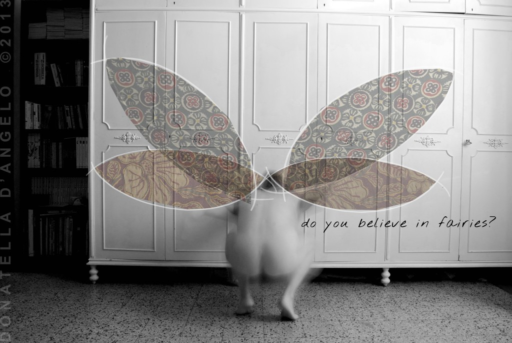 do you believe in fairies? (self-portrait)