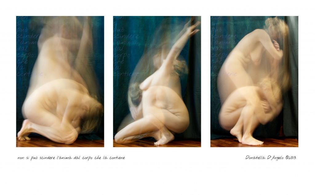 4.Anima e corpo - trittico col