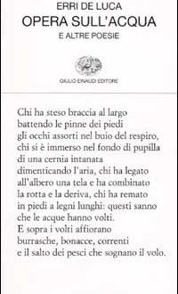 """Da """"Opera sull'acqua"""" di E.DeLuca (Giovanni Perri)"""