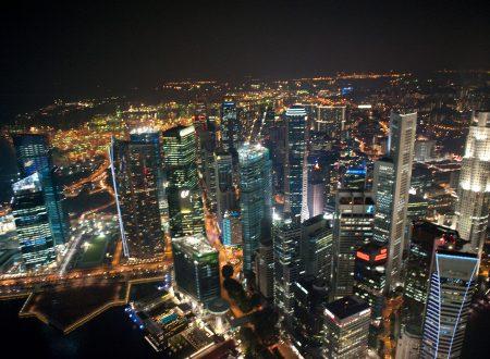 Singapore by night di Andre Folco Lasdo