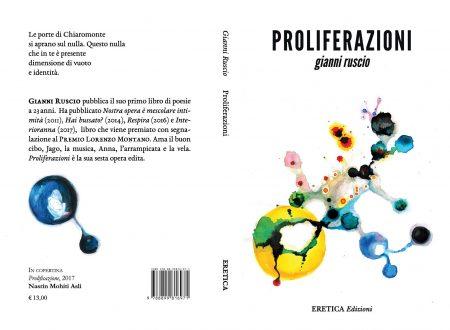 """Introduzione alla lettura di Sonia Caporossi su """"Proliferazioni"""" di Gianni Ruscio, Eretica Edizioni"""